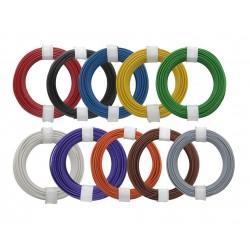 Câblage souple multibrins 0,14 mm² bobine de 10 m Donau - Maketis