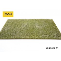 Champ fleuri blanc 15 mm format XL 200x350 mm Polak 5827- Maketis