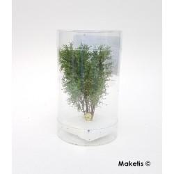 Arbre multi-troncs 8 à 10 cm vert printemps flocage très fin Polak 9511- Maketis