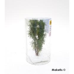 Arbre multi-troncs 8 à 10 cm vert bouleau flocage très fin Polak 9512- Maketis