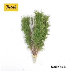 Arbre multi-troncs 12 à 13 cm vert bouleau flocage très fin Polak 9522- Maketis