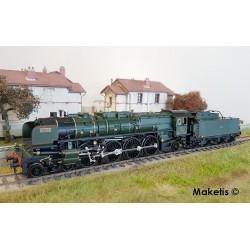 Locomotive à vapeur 241 A 002 Série 13 EST Digital son HO Trix 22913 - Maketis