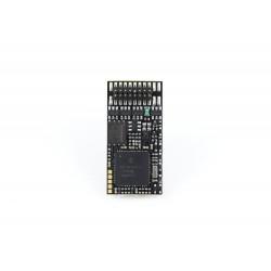 Décodeur sonore Zimo MX645 DCC avec interface Plux16 MX645P16- Maketis