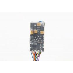 Décodeur sonore Zimo MX645 DCC 8 broches NEM652 MX645R
