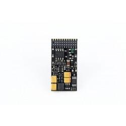 Décodeur sonore Zimo MX644 DCC avec interface Plux21MTC MX644C