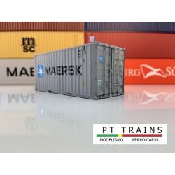 Container 20´DV MAERSK (MRKU8485175) HO PT TRAINS 820003- Maketis