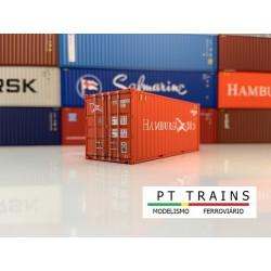 Container 20´DV HAMBURG SÜD (SUDU171308) HO PT TRAINS 820007- Maketis