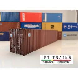 Container 40´ HC BLUE SKY (BSIU9065150) HO PT TRAINS 840002- Maketis