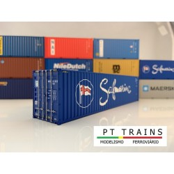 Container 40´ HC SAFMARINE (MRKU2425604) HO PT TRAINS 840004- Maketis