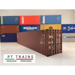 Container 40´ HC TEX (TGBU6302153) HO PT TRAINS 840008- Maketis