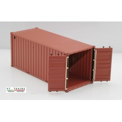 Container 20´DV MSC (GLDU3946348) HO PT TRAINS 820014- Maketis