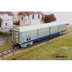 Wagon couvert Hablis 87-6 SNCF Kronenbourg Ep IV-V HO Jouef HJ6163 - Maketis