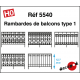Rambardes de balcons type 1 [HO]