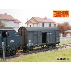 Wagon couvert Oppeln SNCF HO Exact-Train. Epoque IIIa