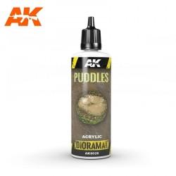 Flaques d'eau - 60ml (Acrylique) AK Interactive AK-8028