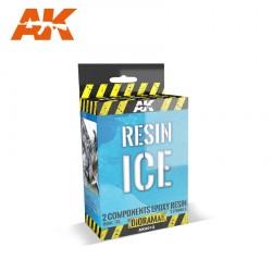 Glace en résine 2 composants AK Interactive AK-8012