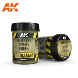Eaux Vert Marais en Gel - 250ml (Acrylique) AK Interactive AK-8006