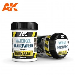 Eaux Transparentes en Gel - 250ml (Acrylique) AK Interactive AK-8002