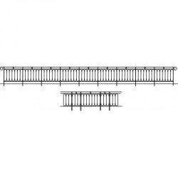 Rambarde de pont ou viaduc ABE 83