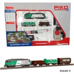 Coffret de départ analogique, BB 67400 FRET SNCF HO PIKO 97925