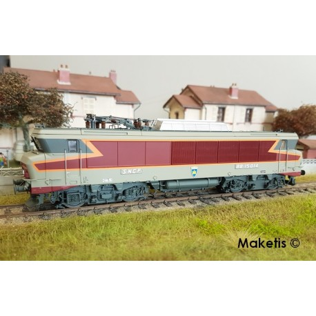 Locomotive BB 15014 livrée TEE Thionville Ep IV-V Digital Son HO LS Models 10478S - Maketis