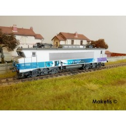 Locomotive BB 7206 En Voyage Bordeaux Ep VI Digital son HO LS Models 10453S - Maketis
