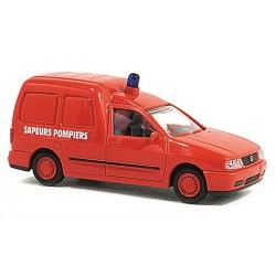 Volkswagen Caddy Sapeurs Pompiers HO Rietze 50851