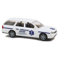 Ford Mondeo Turnier Taxi-Ambulances HO Rietze 50592