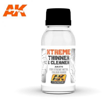 Xtreme Nettoyant et Diluant 100 ml AK Interactive AK470