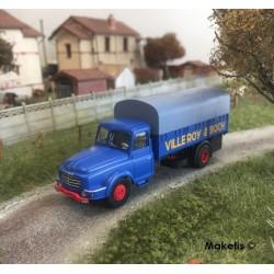 "Camion Willeme Bâché ""VILLEROY & BOCH"" HO REE CB-105- Maketis"