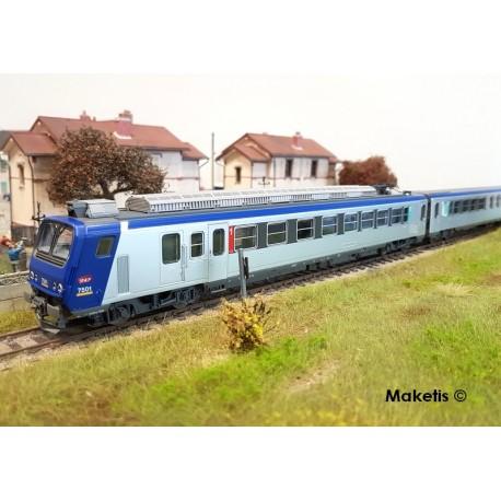 Coffret de départ analogique, BB 67400 SNCF HO PIKO 97919