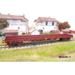 Wagon plat à ranchers Res SNCF Ep V HO Roco 76736