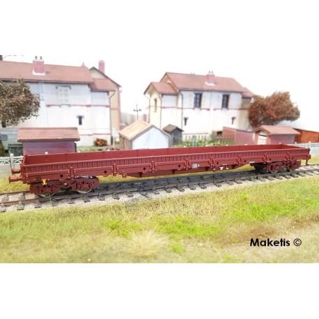 Wagon plat à ranchers Res SNCF Ep V HO Roco 76736 - Maketis