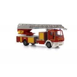 Camion de pompiers français Iveco Magirus Dlk32 Fw18 HO Rietze 68550