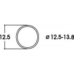 Bandages d'adhérence CC 12,5-13,8 mm Roco HO 40066