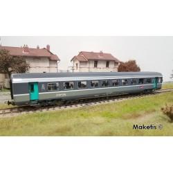 Voiture Corail Vtu B11tu 2ème classe SNCF Ep VI HO PIKO 97090