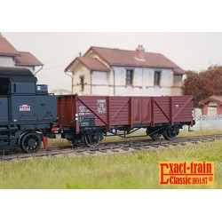 Set de 2 wagons citernes DB 2er Set 24m3 Uedinger Kesselwagen EVA Ep IIIb HO Exact-Train EX20511- Maketis