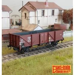 Set de 2 wagons citernes DB 2er Set 24m3 Uedinger Kesselwagen VTG Altes Emblem Ep IIIb HO Exact-Train EX20506- Maketis