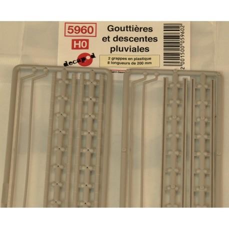 Gouttières et descentes pluviales [HO]