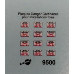 Plaques Danger de Mort pour installations fixes [HO]