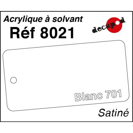 Peinture Acrylique à solvant Decapod - Nuancier SNCF Decapod 8010 - Maketis