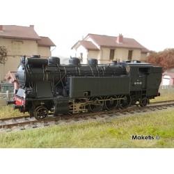 Locomotive à vapeur 141 TA 481 SNCF noire Ep III HO Digital son Jouef HJ2378S - Maketis