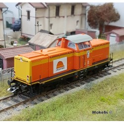 Locomotive diesel série 212 Colas Rail EP VI Digital son HO Trix 22842 - Maketis