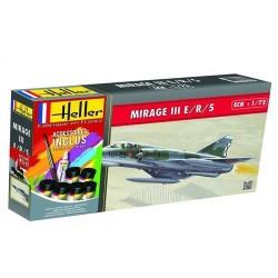 AMD Mirage IIIE/R/5 BA 1/72 Heller 56323 - Maketis