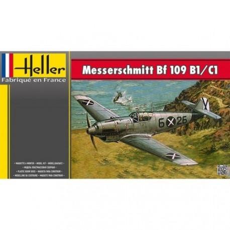 Messerschmitt BF 109/B1 C1 1/72 Heller 80236 - Maketis