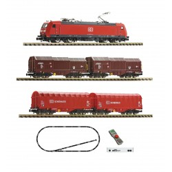 Coffret Digital Z21 Fleischmann N Train de marchandises DB AG Ep VI 931885 - Maketis