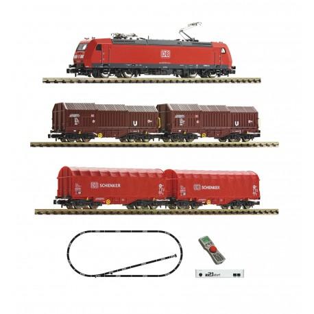 Coffret Digital Z21 Fleischmann N Train de marchandises DB AG Ep VI 931885 - Maketis