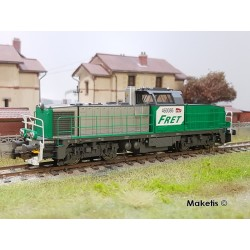 Locomotive Diesel BB60000 FRET SNCF EP VI Digital Son HO Piko 96471-2