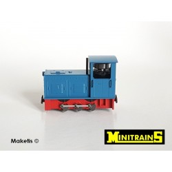 Locotracteur diesel Ns2f bleu H0e Minitrains 2023 - Maketis