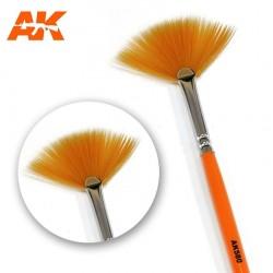 Brosse plate en forme d'éventail pour pigments AK Interactive AK580 - Maketis